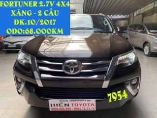 Bán Toyota Fortuner 2.7V 4X4 (2 cầu) đk 10/2017