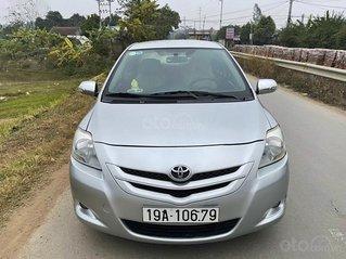 Cần bán xe Toyota Vios 1.5E năm 2008, màu bạc