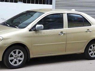 Bán ô tô Toyota Vios đời 2004, màu vàng
