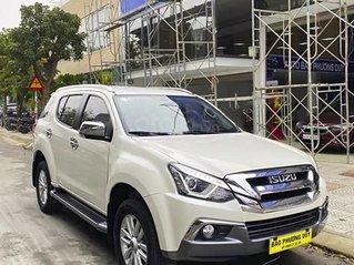 Xe Isuzu mu-X năm sản xuất 2018, màu trắng, nhập khẩu