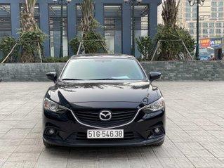 Mazda 6 2.5L AT model 2015 màu đen biển SG