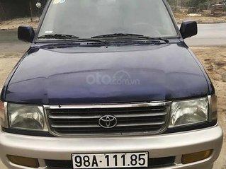 Bán ô tô Toyota Zace GL năm sản xuất 2001, màu xanh lam, giá tốt