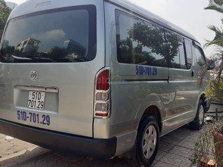 Bán xe Toyota Hiace tải Van 6 chỗ 850kg máy dầu đời 2006, chạy được giờ cấm trong TP