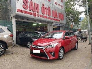 Toyota Yaris G màu đỏ xe nhập khẩu nguyên chiếc, sản xuất 2014, số tự động