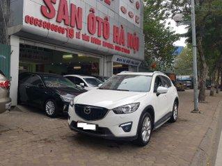 Mazda CX5 2.0 màu trắng sản xuất tháng 12/ 2015 xe tư nhân chính chỉ đi rất ít