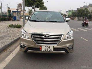 Chính chủ tôi cần bán Toyota Innova 2.0E 2014 số sàn, màu cát