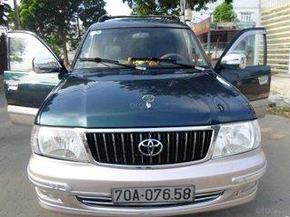 Toyota Zace cao cấp GL, xe mới như hãng, không chiếc thứ 2, zin 100% đời 2004
