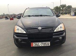 Cần bán lại xe Ssangyong Kyron năm 2005, màu đen, xe nhập còn mới