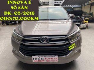 Toyota Innova E số sàn đăng kí tháng 02/2018