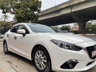 Bán ô tô Mazda 3 sản xuất năm 2016, màu trắng còn mới, giá tốt