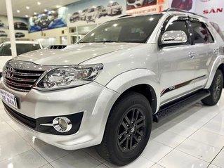 Cần bán lại xe Toyota Fortuner 2.4 G năm 2016, màu bạc chính chủ