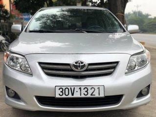 Toyota Corolla 1.6 XLI đời 2009, màu bạc, xe Nhật nhập khẩu, giá tốt