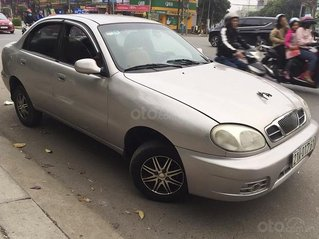 Cần bán lại xe Daewoo Lanos sản xuất 2003, màu bạc