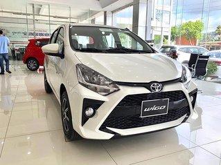 Bán Toyota Wigo 2021, màu trắng, nhập khẩu, 384 triệu