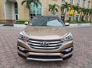 Hỗ trợ mua xe giá thấp với chiếc Hyundai Santa Fe đời 2017, còn mới