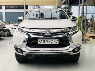 Bán xe Mitsubishi Pajero năm 2018, xe màu trắng, xe gia đình đi nên đẹp như mới