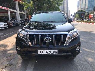 Bán nhanh xe Toyota Prado sản xuất năm 2016, màu đen, biển Hà Nội