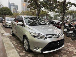 Cần bán Toyota Vios 1.5G đời 2018, màu bạc, 495tr