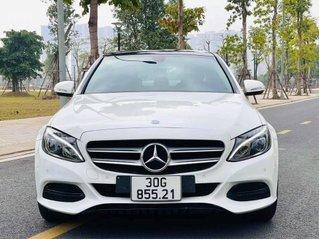 Bán Mercedes-Benz C200 model 2016, màu trắng, biển Hà Nội