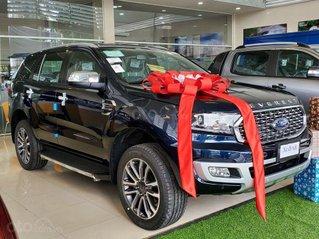 Ford Everest Titanium - khuyến mãi tiền mặt cùng phụ kiện lên đến 50tr