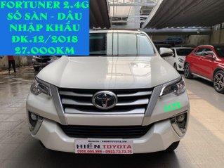 Toyota Fortuner dầu số sàn nhập khẩu, ĐK 12/2018