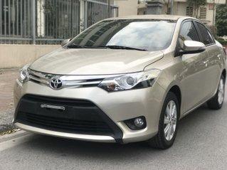 Bán xe Toyota Vios G 2018, màu vàng cát