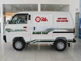 Suzuki tải Van 580KG - Xe chạy giờ cấm 24/24 trong thành phố, khuyến mãi hấp dẫn