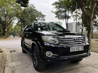 Cần bán Toyota Fortuner 2.5G năm sản xuất 2016, màu đen