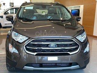 Bán Ford EcoSport model 2021, mới 100%, giảm giá tiền mặt trực tiếp, nhiều ưu đãi