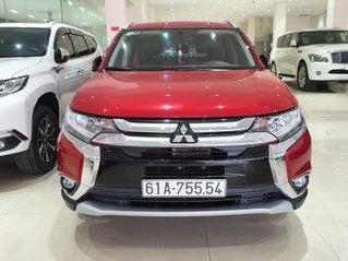 Bán xe Mitsubishi Outlander năm 2019, xe màu đỏ, trả góp chỉ 262 triệu
