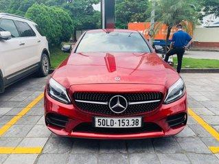 Bán gấp xe Mercedes C300 AMG model 2019, màu đỏ, giá tốt