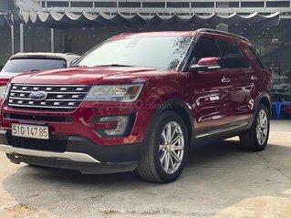 Cần bán xe Ford Explorer Limited đời 2017, màu đỏ, xe nhập còn mới