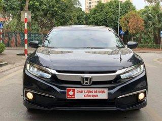 Bán ô tô Honda Civic 1.8G năm 2019, màu đen, biển thủ đô