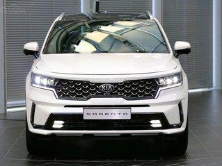 Cần bán Kia Sorento Luxury 2.2 new đời 2021, màu trắng