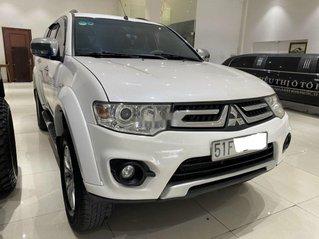 Cần bán lại xe Mitsubishi Pajero Sport năm sản xuất 2016, màu trắng, số sàn