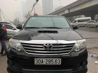 Cần bán xe Toyota Fortuner G 2.5 2014, màu đen, biển thủ đô