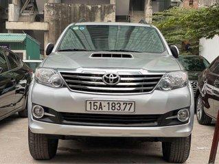Bán ô tô Toyota Fortuner sản xuất 2015, màu bạc, giá tốt