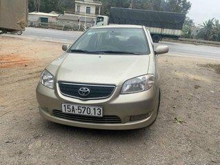 Cần bán Toyota Vios đăng ký 2004, màu vàng, xe gia đình, giá 145 triệu đồng