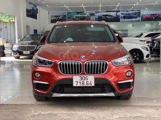 Cần bán BMW X1 sản xuất năm 2018, màu đỏ, siêu lướt, cực mới.