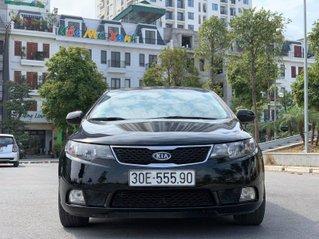 Bán ô tô Kia Forte 1.6 đời 2012, màu đen, giá cạnh tranh