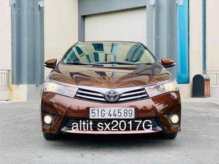 Cần bán gấp Toyota Corolla Altis 1.8 đời 2017, màu nâu bóng, giá cạnh tranh