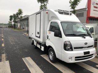 Xe tải đông lạnh Kia K200 tải trọng 0.99 / 1.5 tấn động cơ Hyundai 2021, trả góp 75%