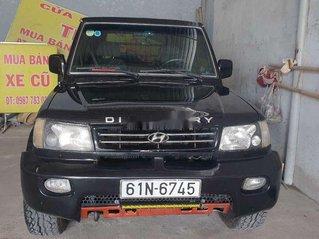Cần bán xe Hyundai Galloper đời 2003, màu đen, nhập khẩu