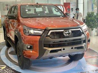 Hilux 2021 mới trả thẳng và trả góp tại Toyota An Sương
