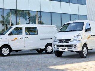 Xe tải Thaco Van 2 chỗ, 5 chỗ, siêu giảm giá đầu năm, vừa đi chơi vừa đi làm, chạy giờ cấm 24/24