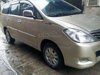 Bán nhanh Toyota Innova G đời 2010, màu vàng cát, xe gia đình, giá hợp lý