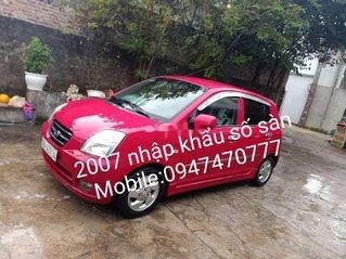 Cần bán Kia Morning năm sản xuất 2007, màu đỏ, xe nhập