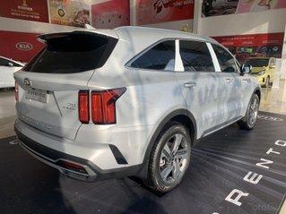 Sorento new bạc, xe đủ màu có sẵn, giảm tiền mặt+ nhiều quà tặng, lái thử xe 24/7