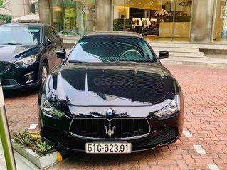 Bán ô tô Maserati chính hãng sản xuất 2016, màu đen, 1 đời chủ duy nhất, giá cạnh tranh