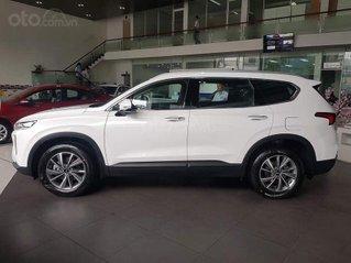 [Hyundai Long Biên] Santa Fe 2021- hỗ trợ vay 90% chỉ 260tr nhận xe - sẵn xe giao ngay - bảo hành xe 5 năm